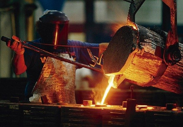 Produção industrial cresce 0,1% em 5 dos 14 estados pesquisados