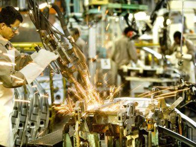 Cresce a confiança da indústria de transformação