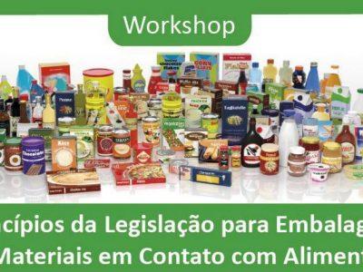 Entidades realizam workshop sobre legislação para embalagens e materiais em contato com alimentos