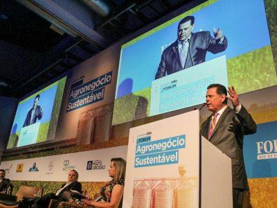 Marconi defende mudanças na Lei Kandir em Fórum do Agronegócio Sustentável