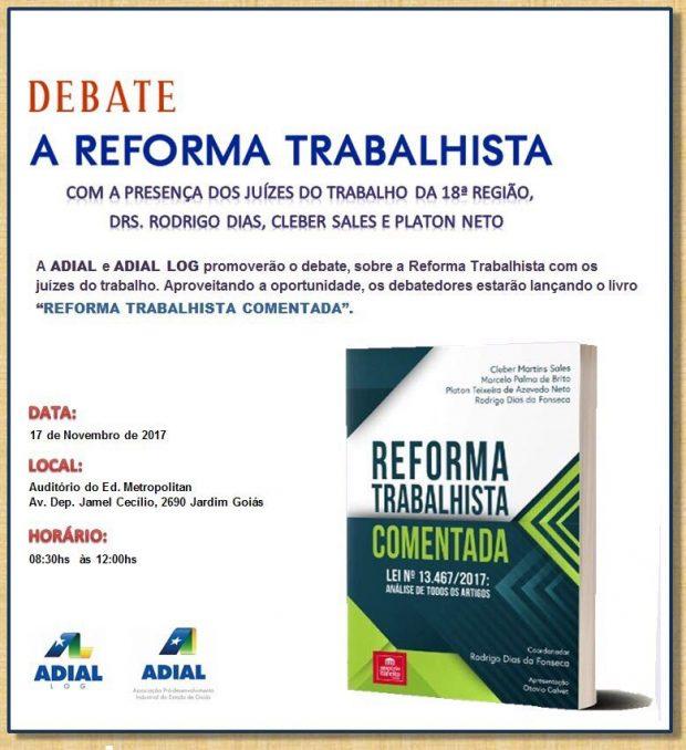 Adial realiza debate sobre a reforma trabalhista