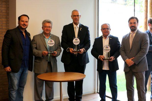 Gyntec premia Jalles Machado